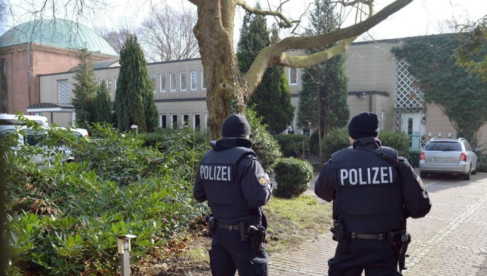 La Policía alemana en Bremen