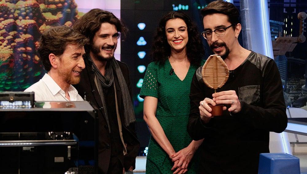 Pablo Motos, Yon González, Blanca Romero y Marron en El Hormiguero 3.0