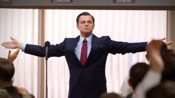 Leonardo DiCaprio en la épica 'El Lobo de Wall Street'
