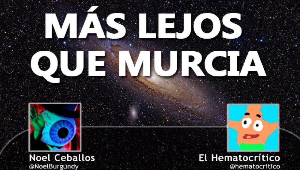 Más lejos que Murcia