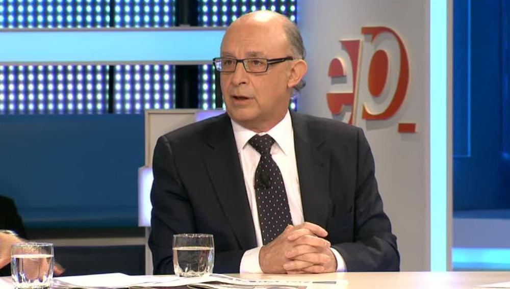 Cristóbal Montoro, en Espejo Público