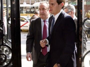 Alber Rivera, líder de Ciudadanos