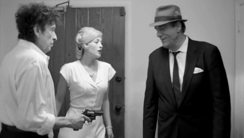 """Bob Dylan estrena videoclip de """"The night we called it a day"""", tema de su album de versiones de Frank Sinatra."""