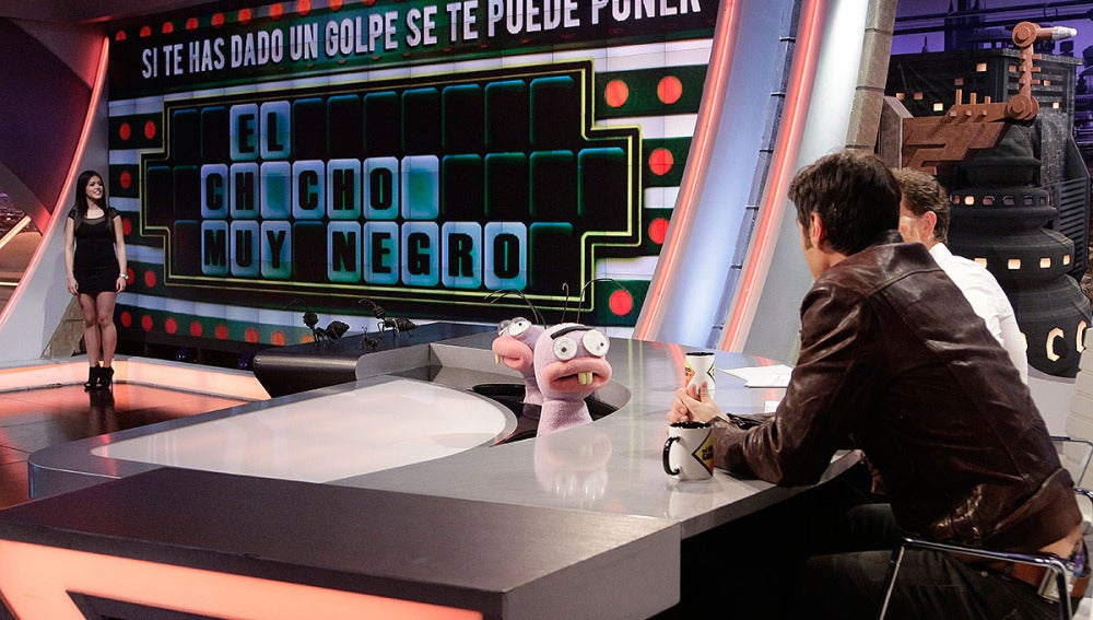 Jorge Fernández jugando a la ruleta de la tontuna