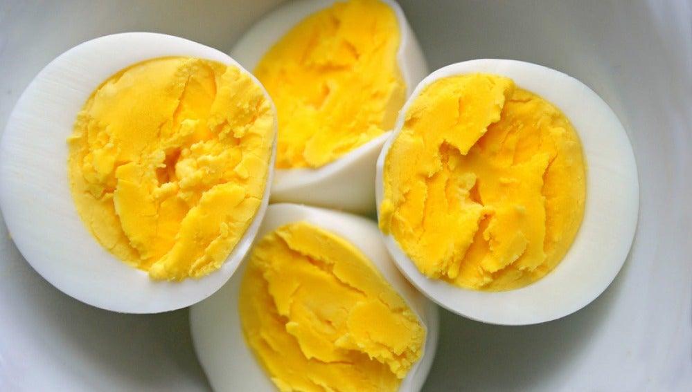 Huevos mal cocidos