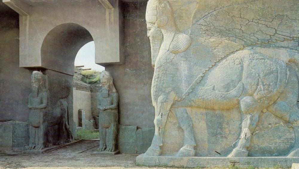 Ruinas asirias en Namrud