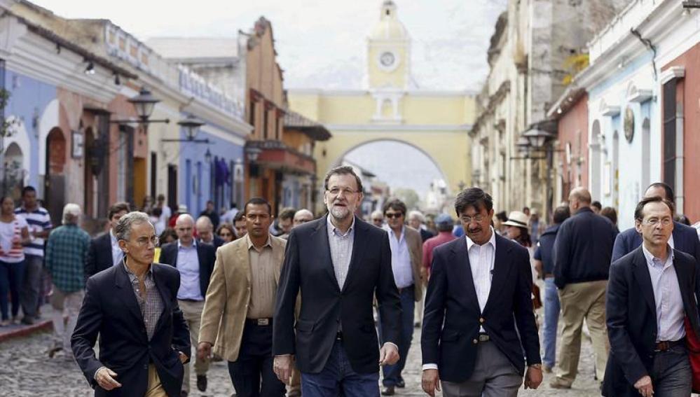 Rajoy, de visita oficial en Guatemala