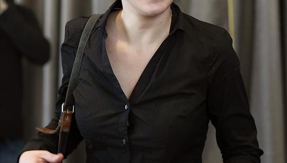 La secretaria de coordinación de áreas de Podemos, Irene Montero