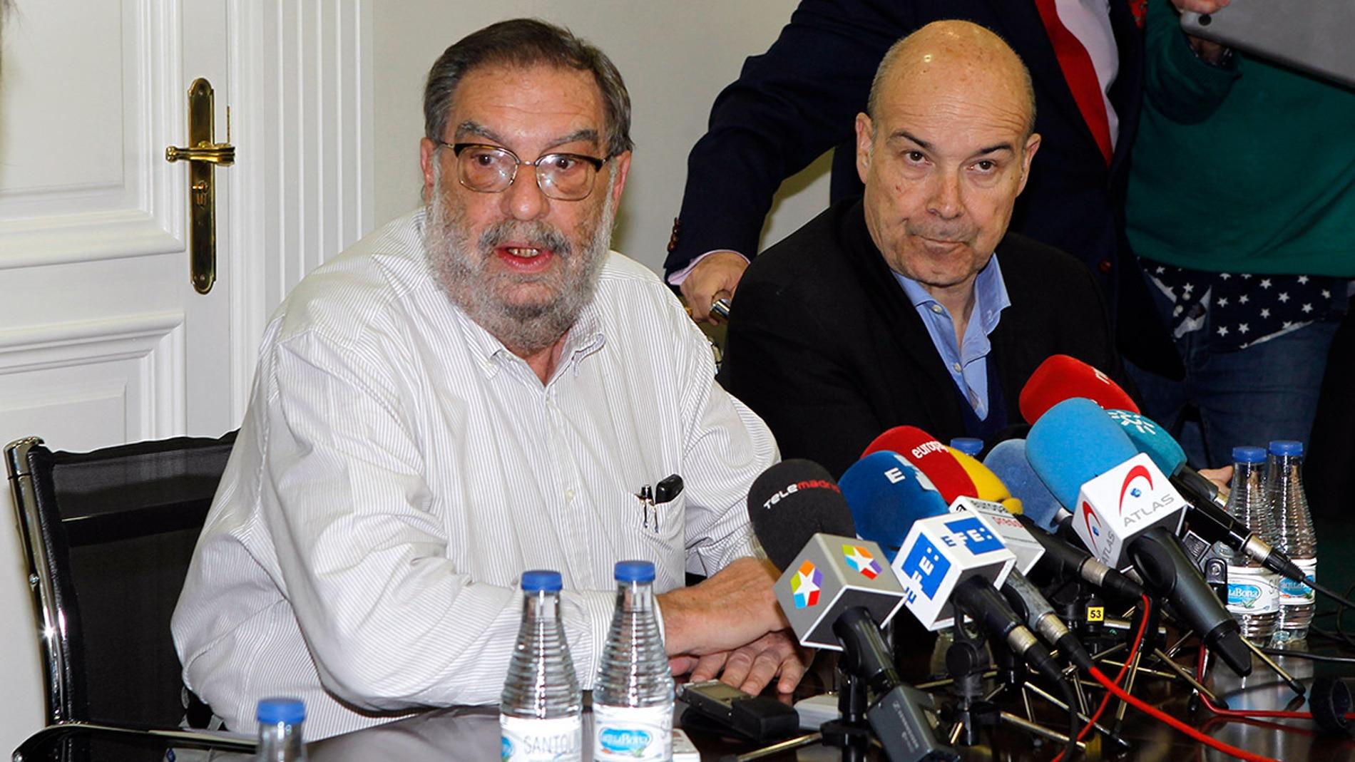 Enrique González Macho y Antonio Resines