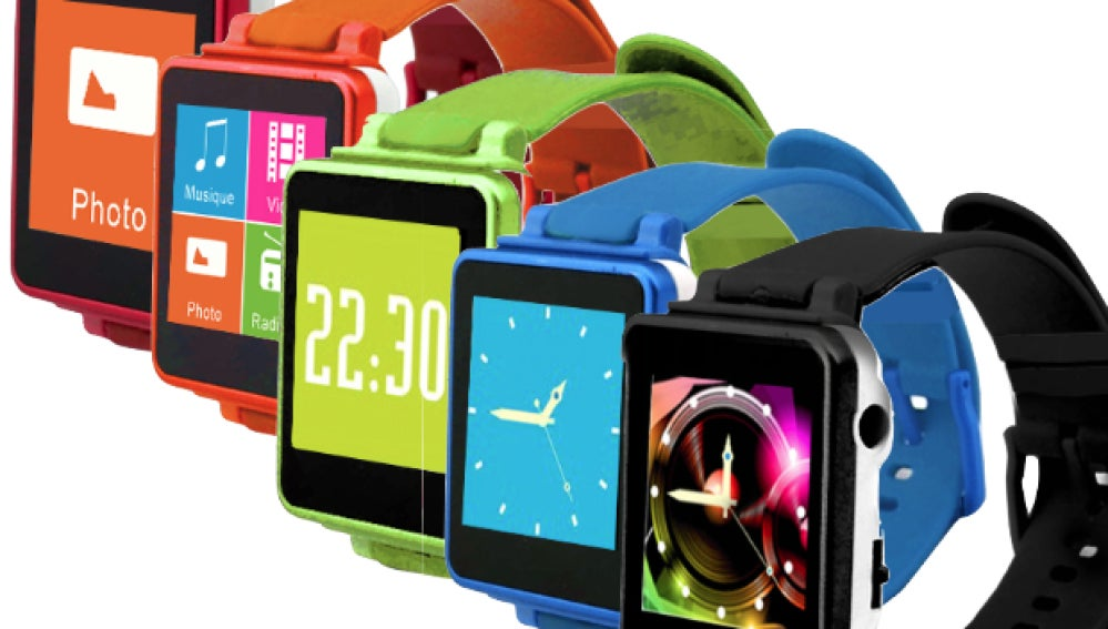 D-Watch, un clon del iWatch de Apple