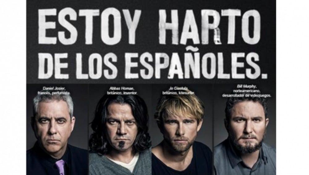 """Campaña """"Estoy harto de los españoles"""""""