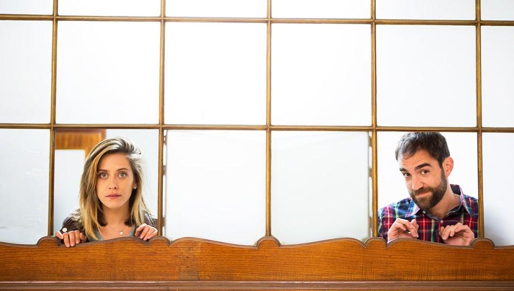 María León es Carmen y Jon Plazaola son los protagonistas de 'Allí Abajo'