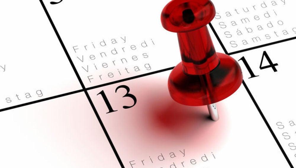 Viernes 13 en el calendario