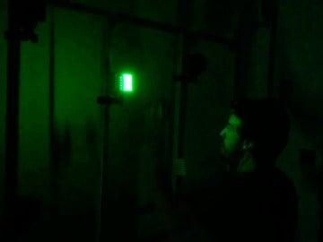 Fernando Alonso muestra sus reflejos frente la máquina Batak