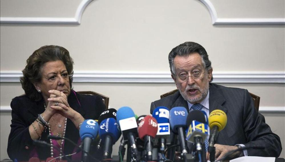 Alfonso Grau y Rita Barbera.