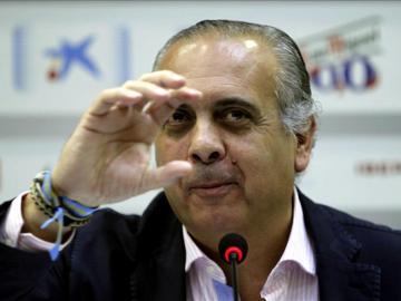 El presidente de la Federación Española de Baloncesto (FEB), José Luis Sáez