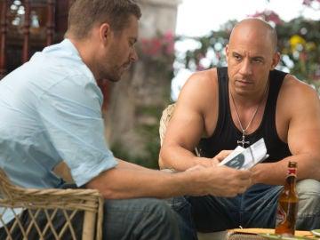 Vin Diesel y Paul Walker en 'Fast and Furious'