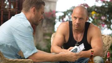 Vin Diesel y Paul Walker en 'Fast & Furious'
