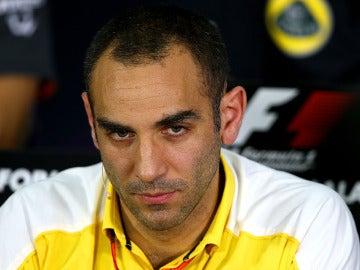 El director ejecutivo de Renault Sport F1, Cyril Abiteboul