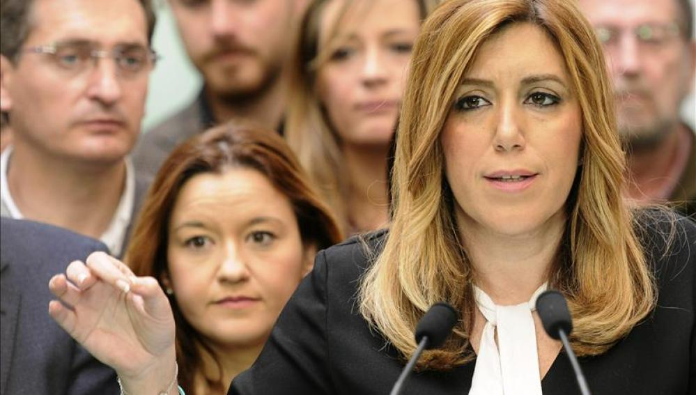 La presidenta andaluza Susana Díaz