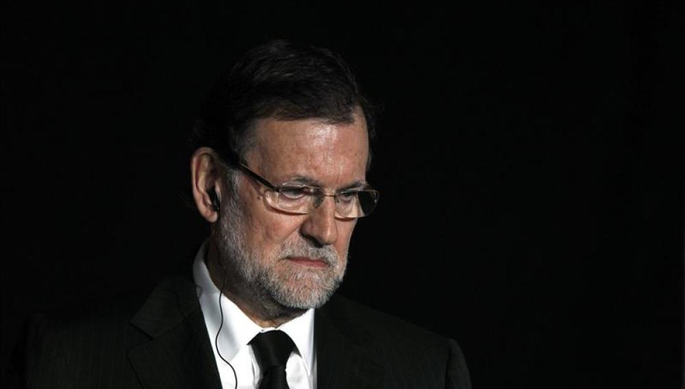 El presidente del Gobierno español Mariano Rajoy.