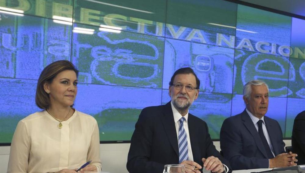 Mariano Rajoy, en la Junta Directiva Nacional del PP