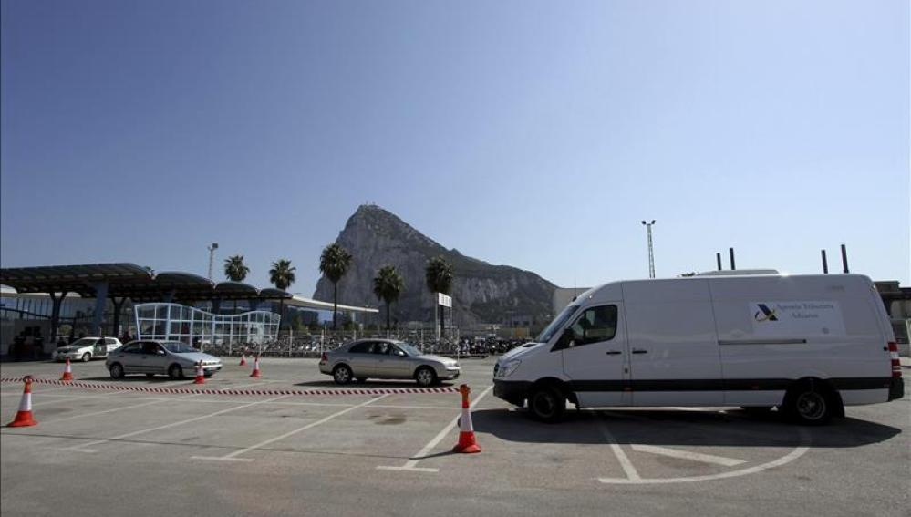 Aduana española en Gibraltar