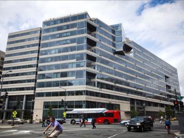 La sede del Fondo Monetario Internacional