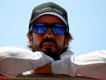 Alonso, relajado en Shanghái