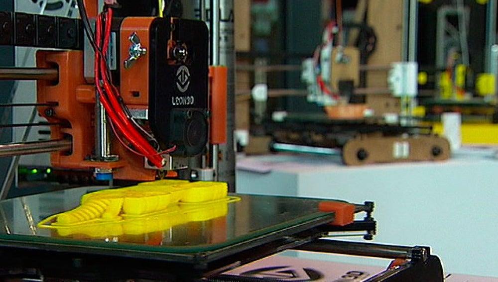 Impresoras 3D en funcionamiento