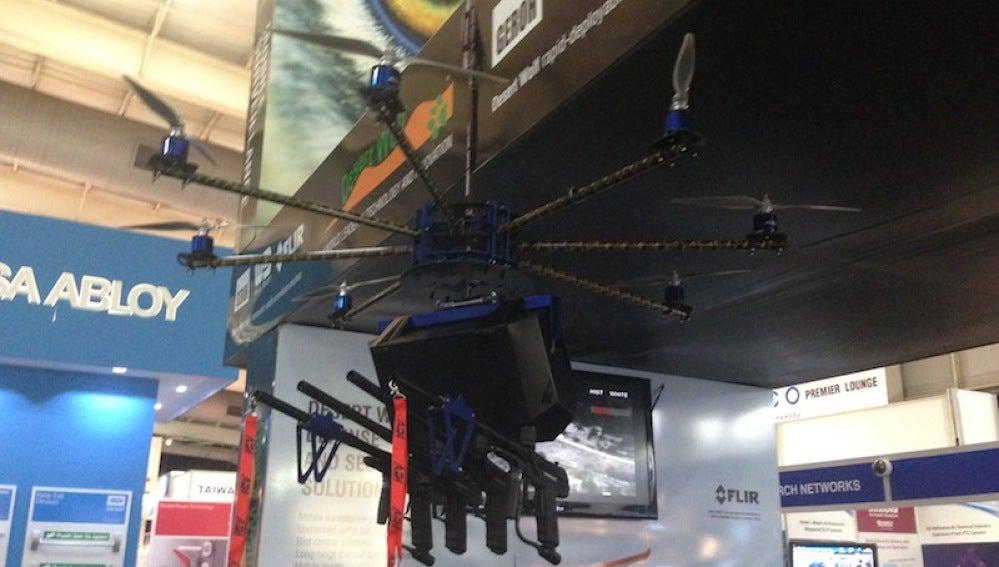 El dron 'Mofeta'