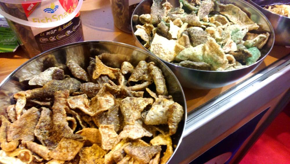 Chips de bacalao, ¿el snack del futuro?