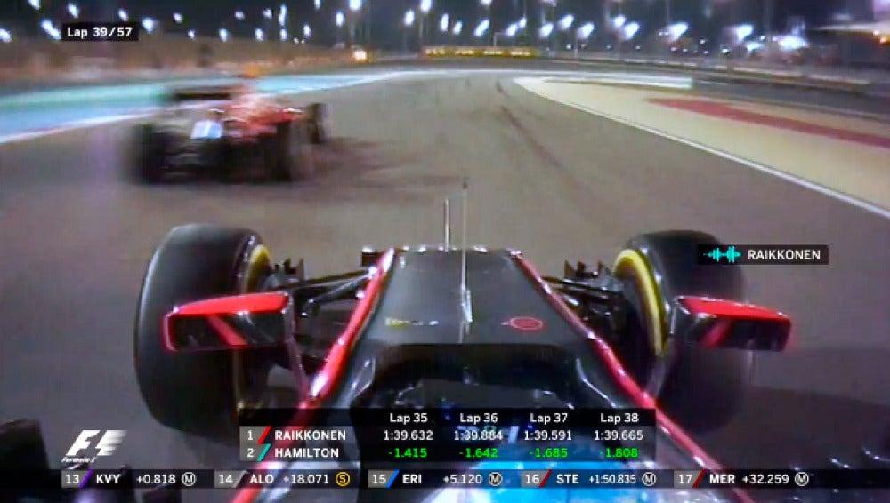 'Quitadme ese Ferrari de en medio': Alonso se toma la revancha