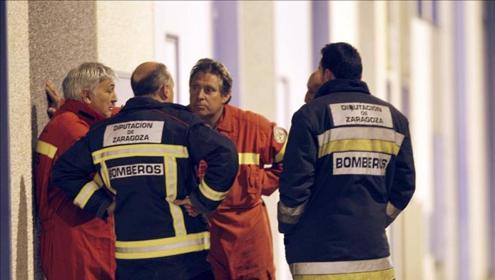 Bomberos de la Diputación de Zaragoza