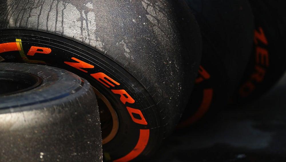 Neumáticos de Pirelli en el pasado GP de España