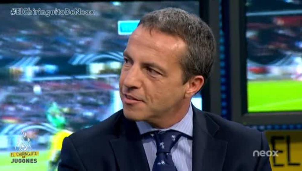 Cristóbal Soria, en 'El Chiringuito de Jugones'