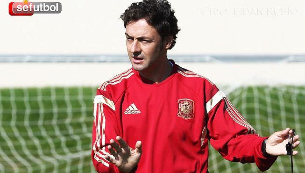 Santi Denia con la Selección Sub-17