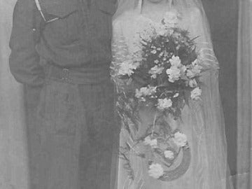 Un veterano de la II Guerra Mundial muere el mismo día y de la misma enfermedad que su mujer