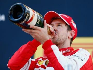 Vettel, a morro