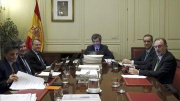 Reunión de la Comisión Permanente del Consejo General del Poder judicial