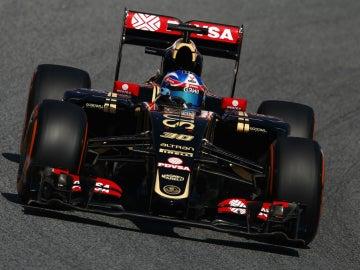 Jolyon Palmer, a bordo del Lotus