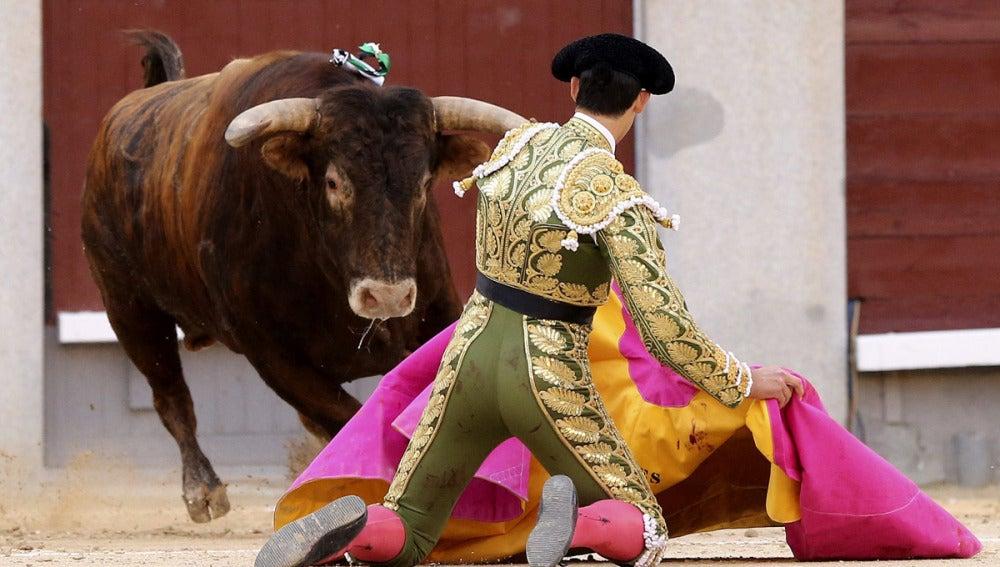 El diestro Jiménez Fortes recibe a portagayola a su segundo tor