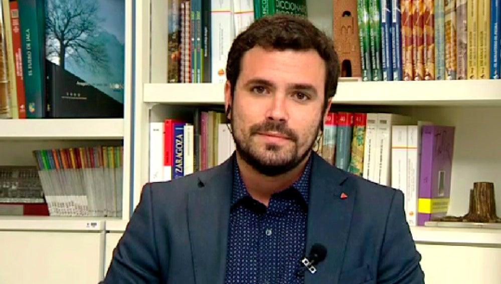 Alberto Garzón, en Espejo Público