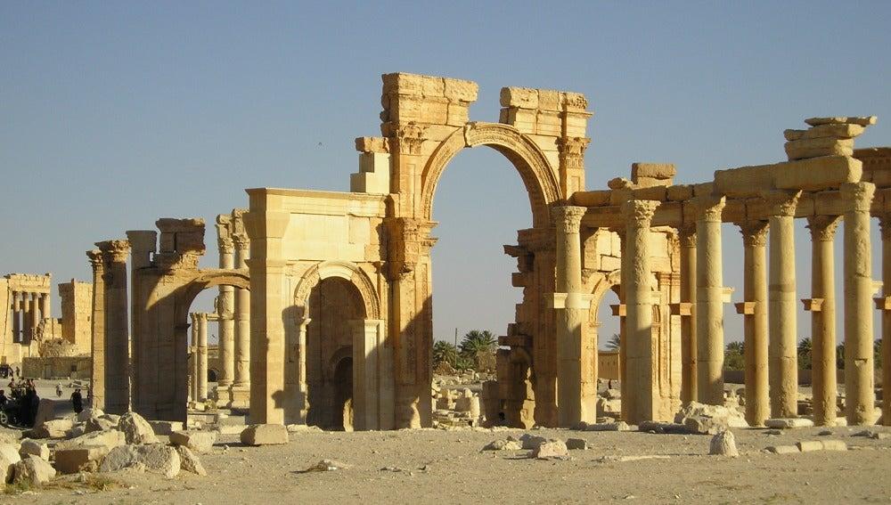 Ruinas de Palmira, en Siria