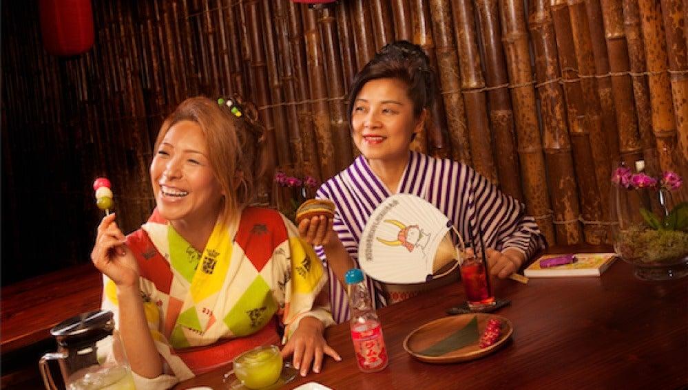 Dulces japoneses para merendar. ¡Planazo!