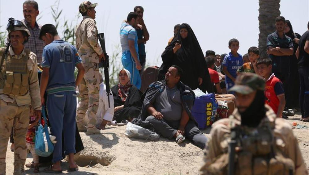 El Estado Islámico da un duro revés al Gobierno iraquí con la ocupación de Al Ramadi