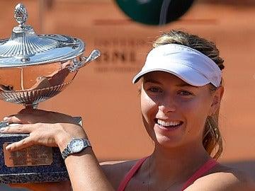 Maria Sharapova vence en Roma