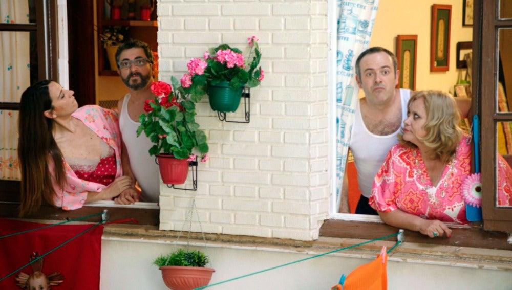 """Iñaki descubre que los vascos han pasado la noche con las vecinas: """"Me vais a quitar la vida"""""""