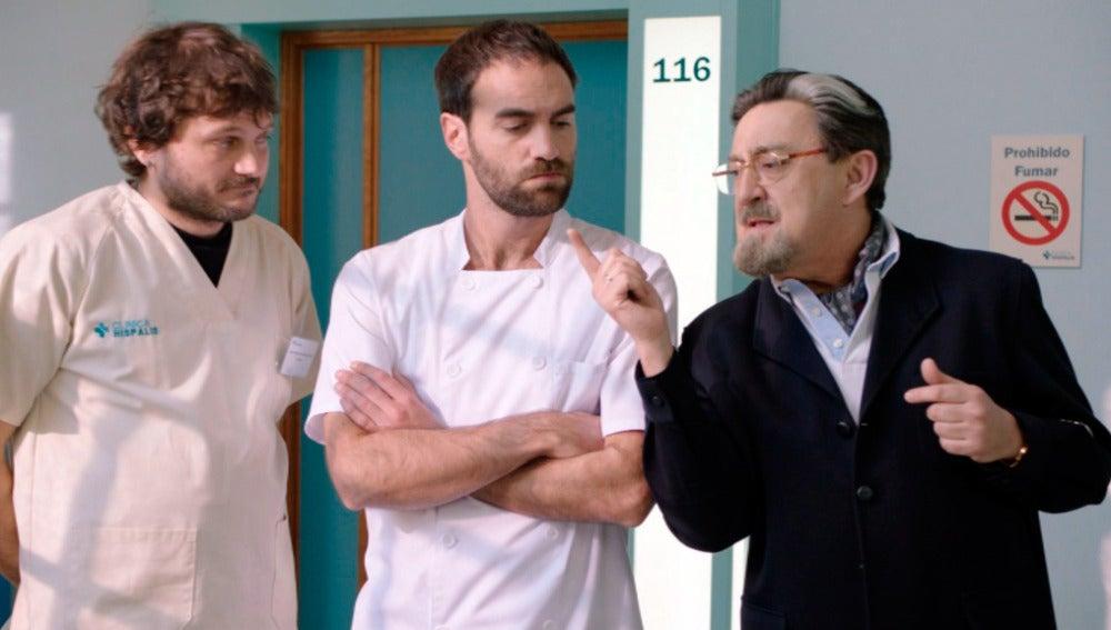 Jozé y Benjumea le enseñan a Iñaki el arte de la seducción para usarlo con Carmen