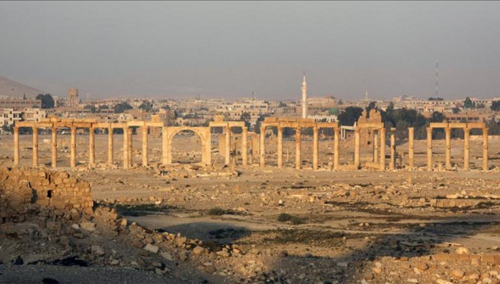 La ciudad de Palmira en Siria